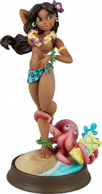 Club Coconut Collection: Island Girl Statue