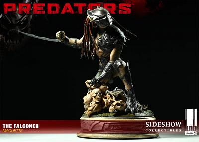 Predators: - The Falconer Maquette