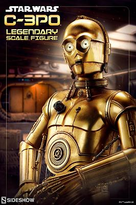 Star Wars: C-3PO Legendary Scale Figure