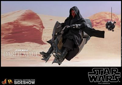 Star Wars: TPM - Darth Maul with Sith Speeder 1:6 Scale Figure