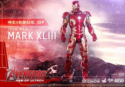 Marvel: Avengers AoU - Die-Cast Iron Man Mark XLIII 1:6 Scale Fi