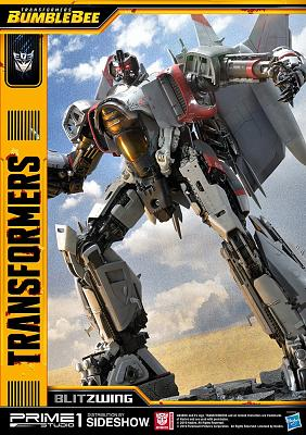 Transformers: Bumblebee 2018 - Blitzwing 31 inch Statue
