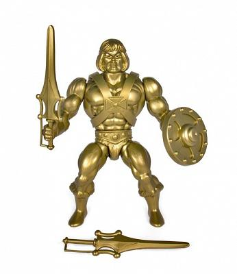 MOTU: Vintage Wave 3: Gold He-man Action Figure