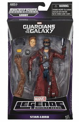 Guardians of the Galaxy Marvel Legends Star Lord
