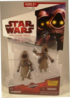 Jawas Clone Wars 2009 Animated Action Figure Hasbro