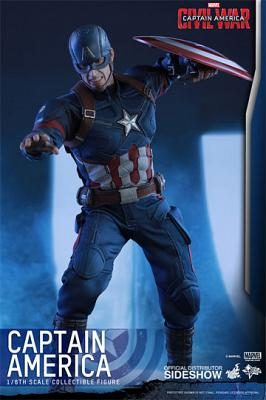 Captain America Civil War Movie Masterpiece Actionfigur 1/6 Capt