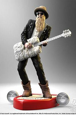 Billy F Gibbons Rock Iconz Statue 22 cm