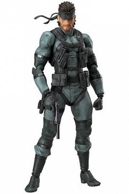 Metal Gear Solid 2 Sons of Liberty Figma Actionfigur Solid Snake
