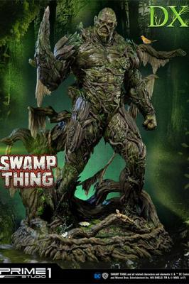 DC Comics Statue The Swamp Thing Deluxe Version 84 cm
