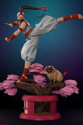 Street Fighter Ultra Statue 1/4 Ibuki PCS Player 2 Exclusive 66
