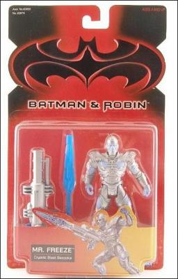 Batman and Robin (Movie) Action Figures Mr. Freeze (Cryonic Blas