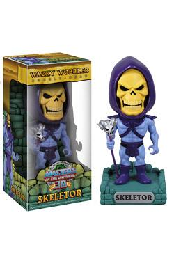 Masters of the Universe Wacky Wobbler Wackelkopf-Figur Skeletor