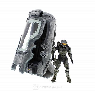 Halo 4 Master Chief in UNSC Cryotube Deluxe Action Figure Set
