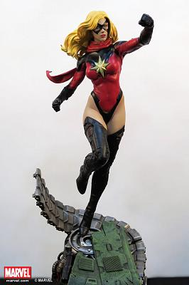 Ms. Marvel Statue XM Studio