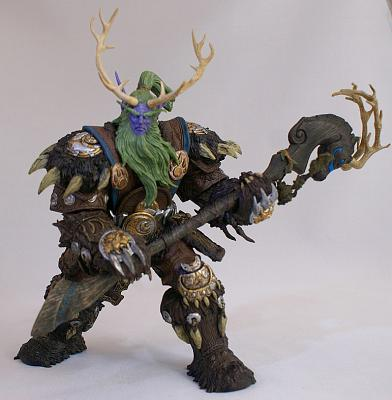 World of Warcraft Broll Bearmantle-Night Elf Druid Figur