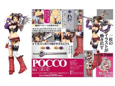 Revoltech Fraulein No.004 Pocco Action Figure