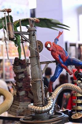 XM Studios Spiderman Statue