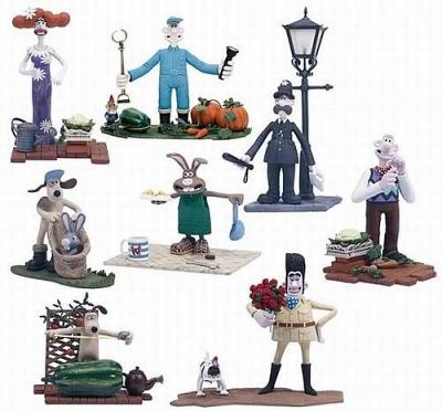 6inch/14cm - Wallace & Gromit Assortment (8 Figuren)