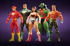 JLA Classified Series 1 Master Case (5 Figuren)