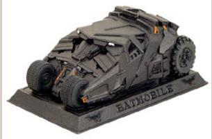 Mini Paperweight - Batmobile (resin)