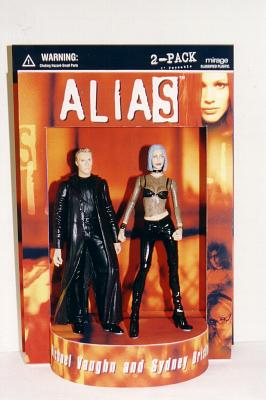 Alias Sydney Bristow und Michael Vaughn Actionfiguren 2-pack