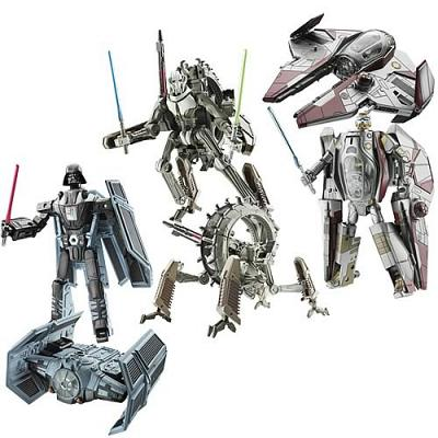 Star Wars Transformers Wave 1 (3 Figures)