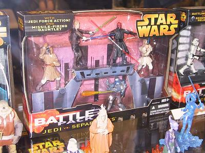 Battle 5er pack Jedi/Seperatists Wave II