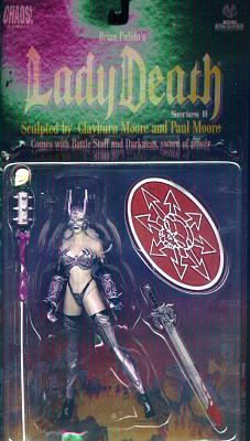 Battle Lady Death Actionfigur