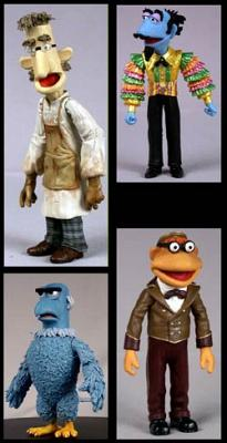 Muppet Show Serie 8 - 4er Assortment