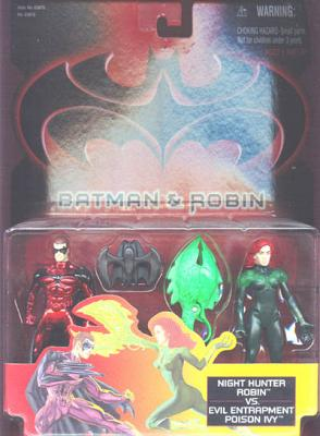Batman Night Hunter Robin vs. Evil Entrapment Poison Ivy
