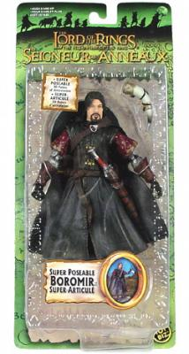 Trilogy Carded Boromir Super Poseable