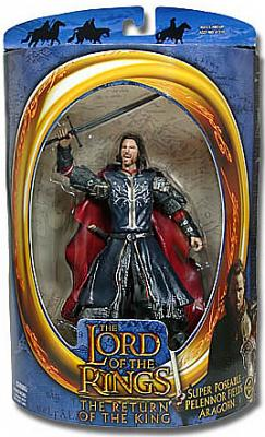 Super Poseable Pelennor Fields Aragorn ROTK Serie 2