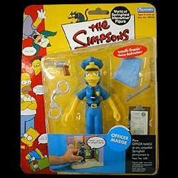Simpsons Figur Serie 7 Officer Marge
