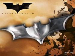 Batman - Batarang Folding Money Clip Chrome
