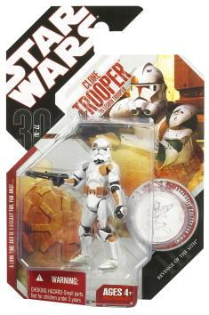 30th Wave 8 - Clone Trooper (Red)