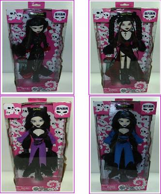 "Goth 12"" Fashion Doll Asian Exclusive Slayer Storm"