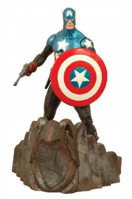 Marvel Select Actionfigur Captain America 18cm