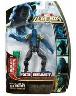 Marvel Legends 2007 Annihilus - X3 Beast 17cm Actionfigur