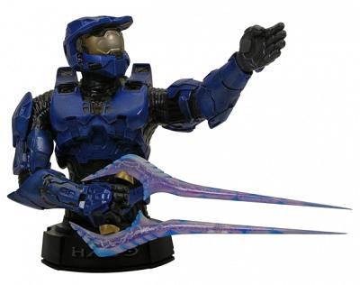Halo 3 Master Chief Mini Bust (Blue)