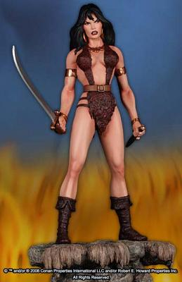 Conan the Barbarian Statue Bêlit 34 cm