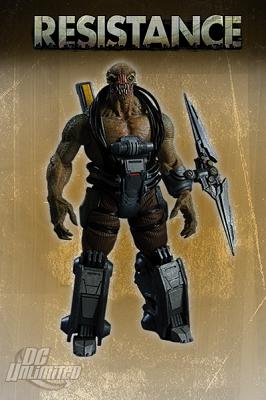 Resistance - Ravager action figure