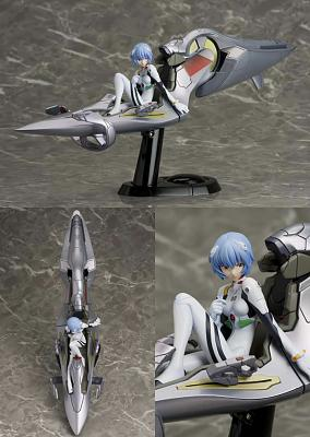 EVANGELION (REBUILD OF) - Rei Ayanami with Entry Plug PVC & ABS