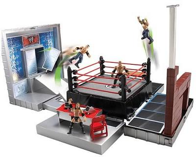 WWE Micro Figuren Ring Playset