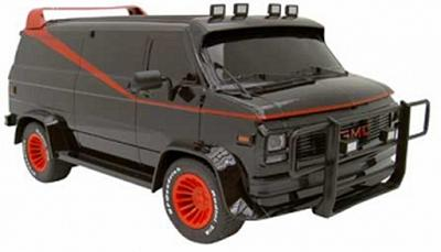 A-Team Van RC Scale 1:15