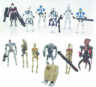 STAR WARS - Action Figure Previews exclusive Battlefont II pack