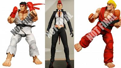 Street Fighter 4 - Series 1 7 (3 Figuren)