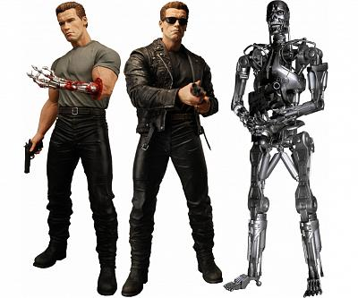 Cult Classics Terminator 2 Series 1 T-800 (with sunglasses and s