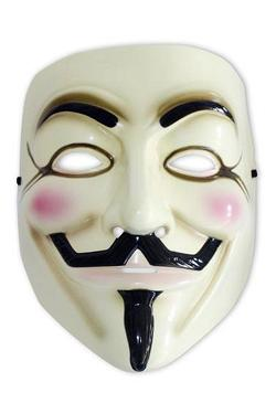 V for Vendetta Replik Guy Fawkes Maske