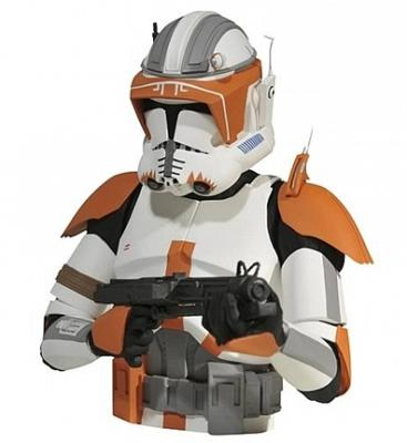 Star Wars Commander Cody Bust Spardose