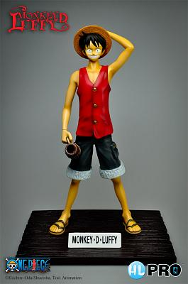 One Piece PVC Statue Monkey D. Luffy 30 cm